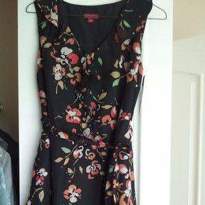 Target Merona Tie Waist Ruffle Summer Dress sz 2